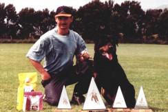 NZ Obedience Ch. Wallkuer Casta SchI  (Rainbow Bridge)