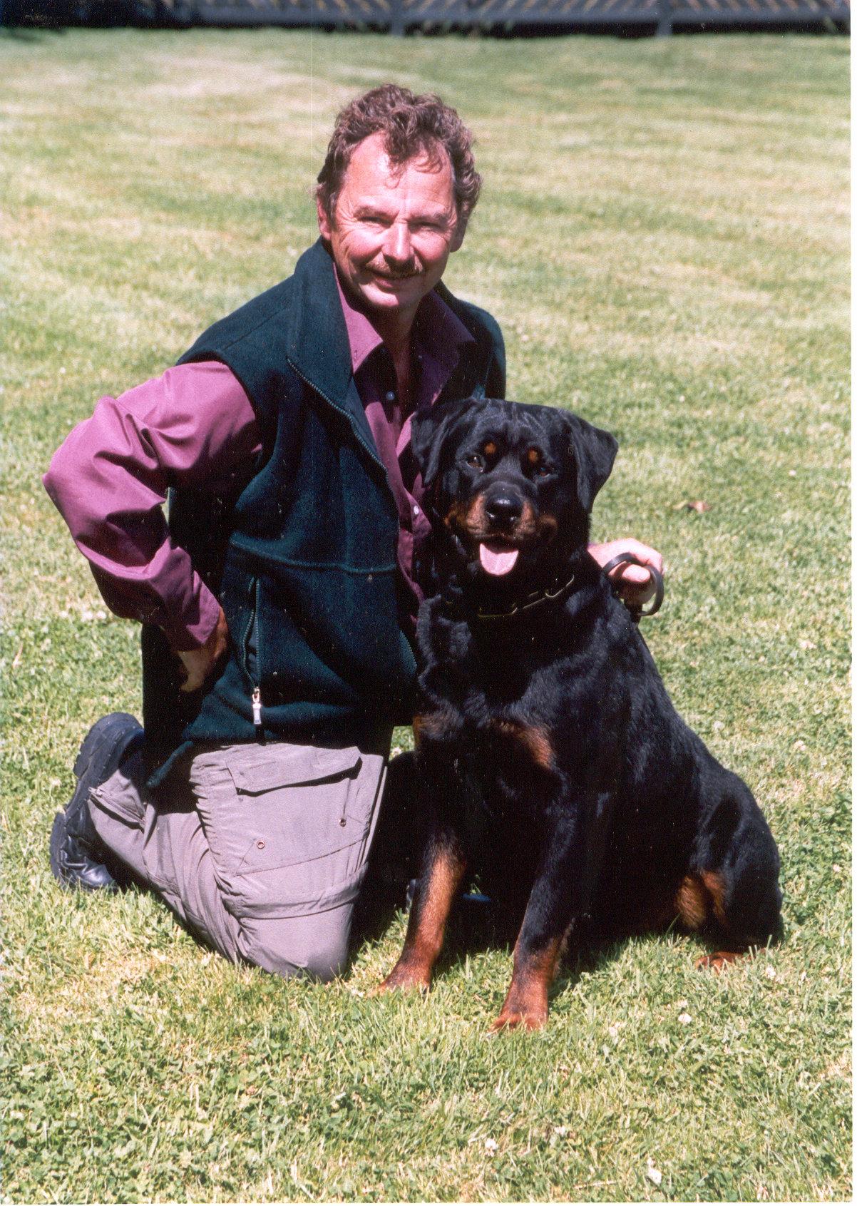 NZ Obedience Ch.Strazeele Falk Vom Matcho CDX, BH, Sch1 IPO11 (Rainbow Bridge)